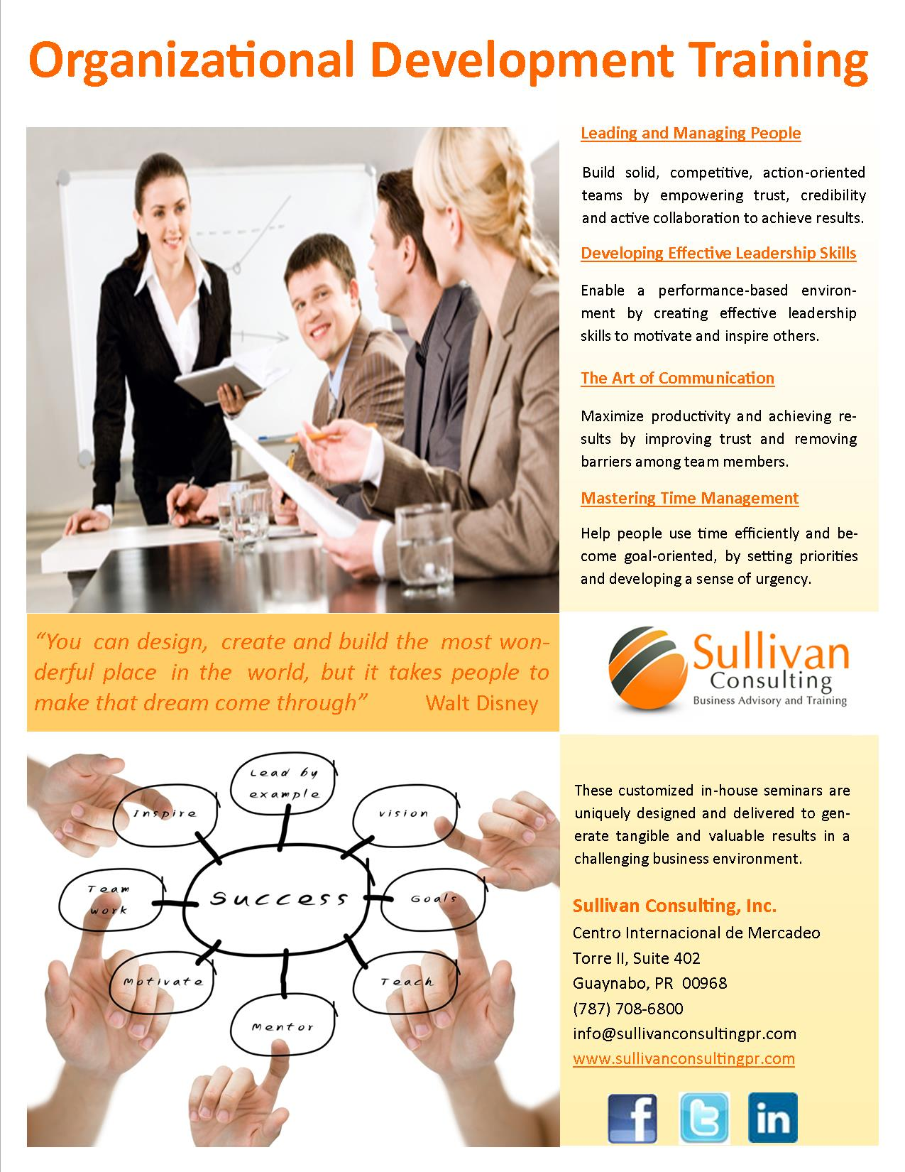 Organizational development training